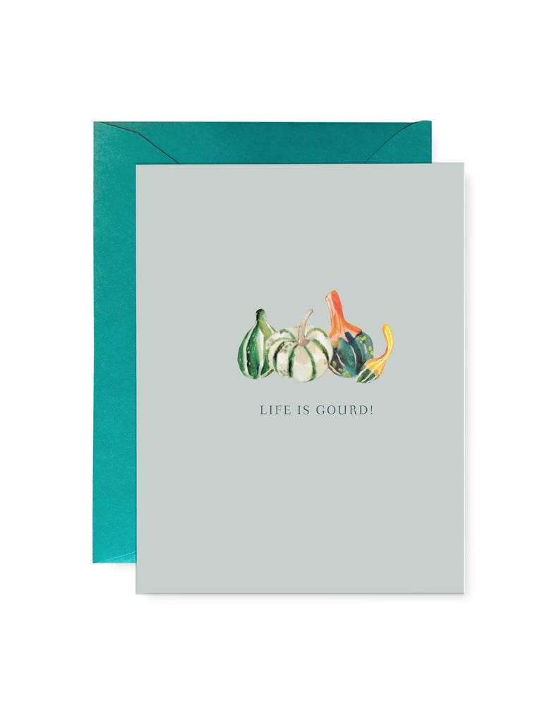 Life is Gourd Card