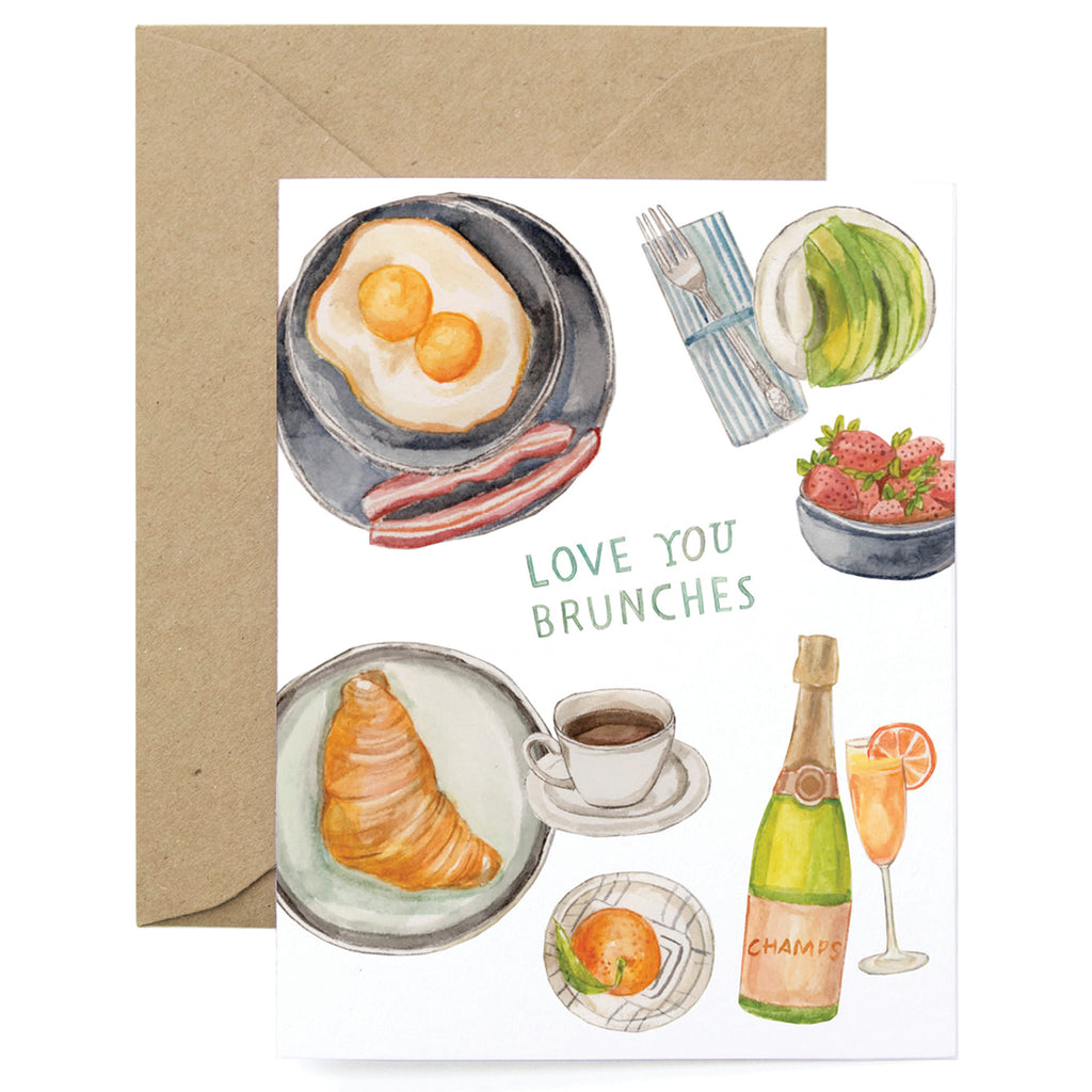 Love You Brunches Card