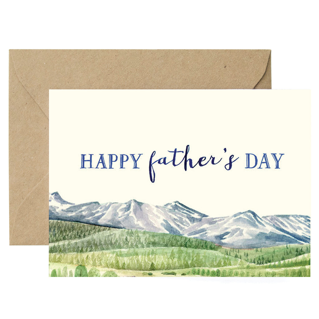 Mountain Dad Card