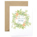 Floral Wreath Mom Card