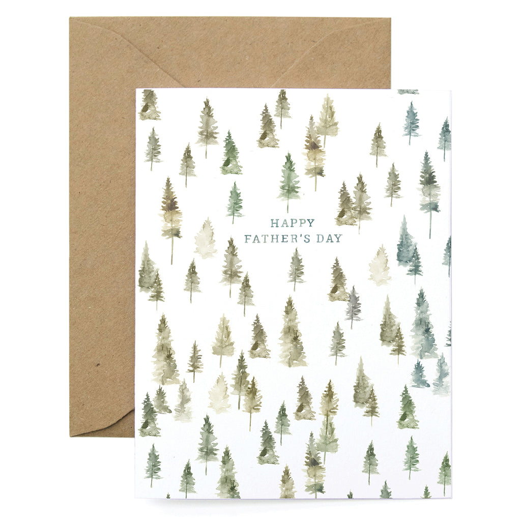 Father's Day Trees Card