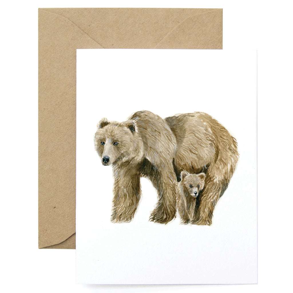 Bear Thanks Card