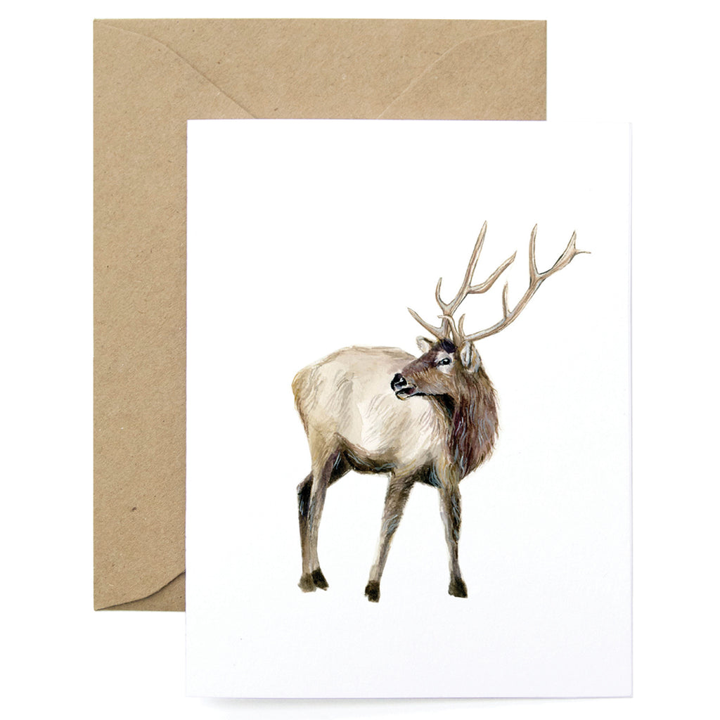Deer Thanks Card