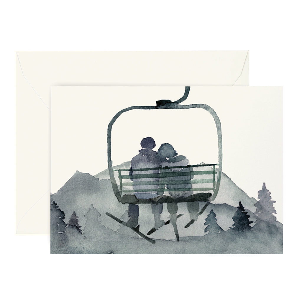 Gondola Love Card