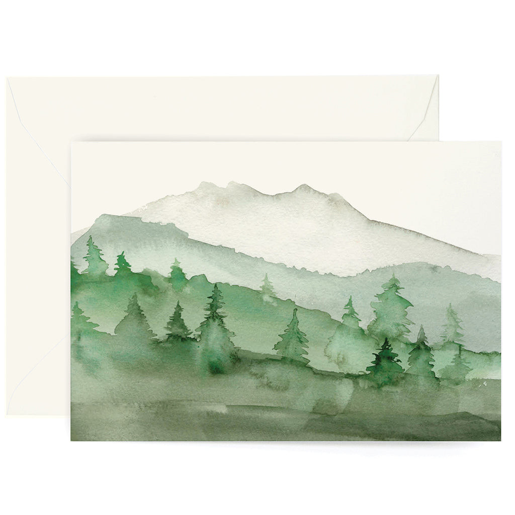 Green Mountains Card