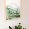 Green Mountain Art Print