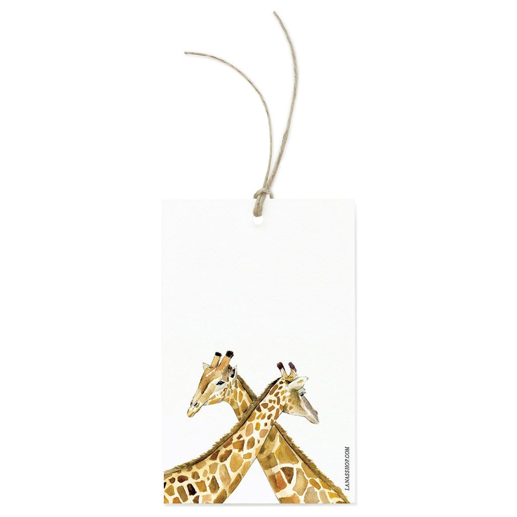 Giraffe Love Gift Tag Set