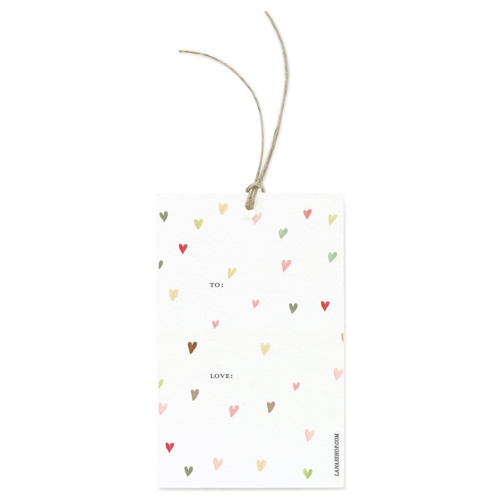 Hearts Gift Tag Set