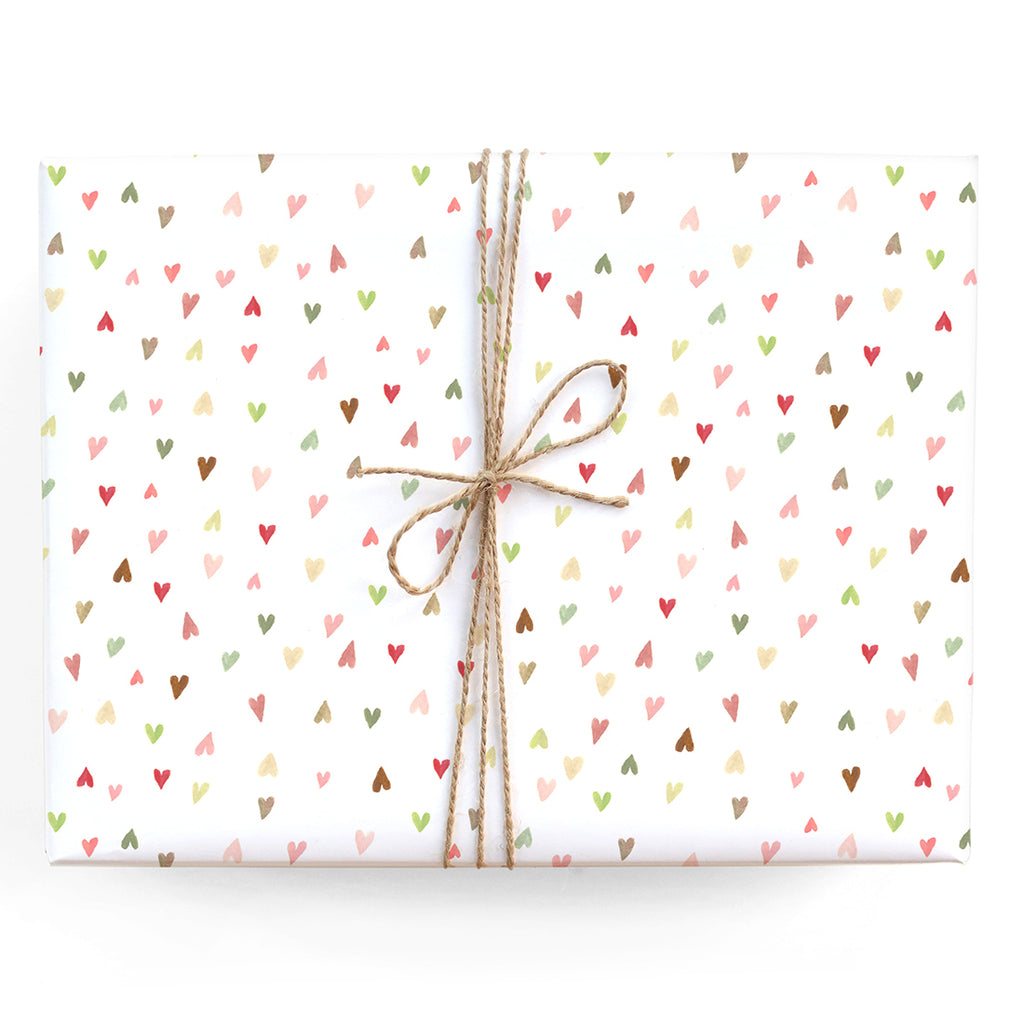 XOXO Foil Gift Wrap Wrapping Paper 2 Sheet 2 Tags Hugs Kisses Birthday Valentine