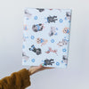 Hanukkah Puppy Dog Gift Wrap