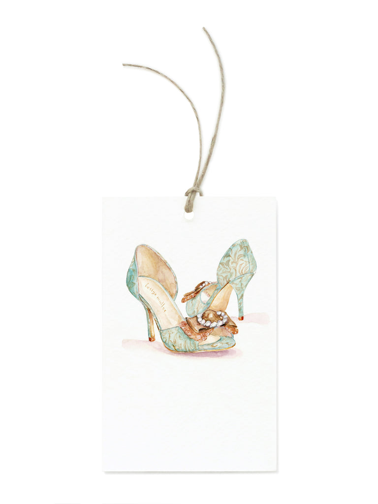 High Heel Shoes Gift Tags
