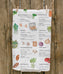 Food Market Tea Towel