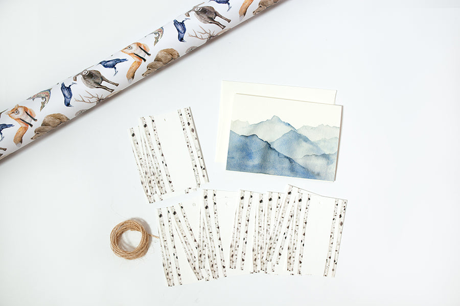 Mountain Animal Wrapping Bundle