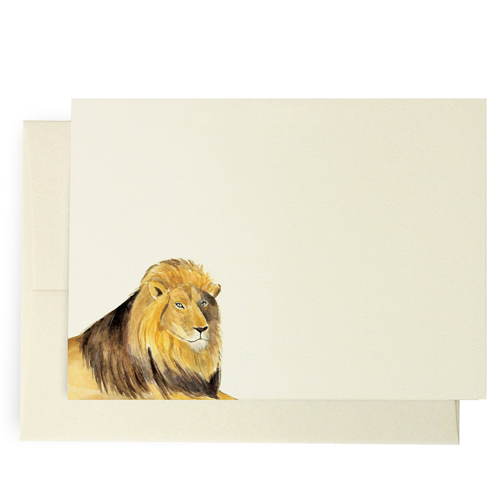 Lion Note Cards