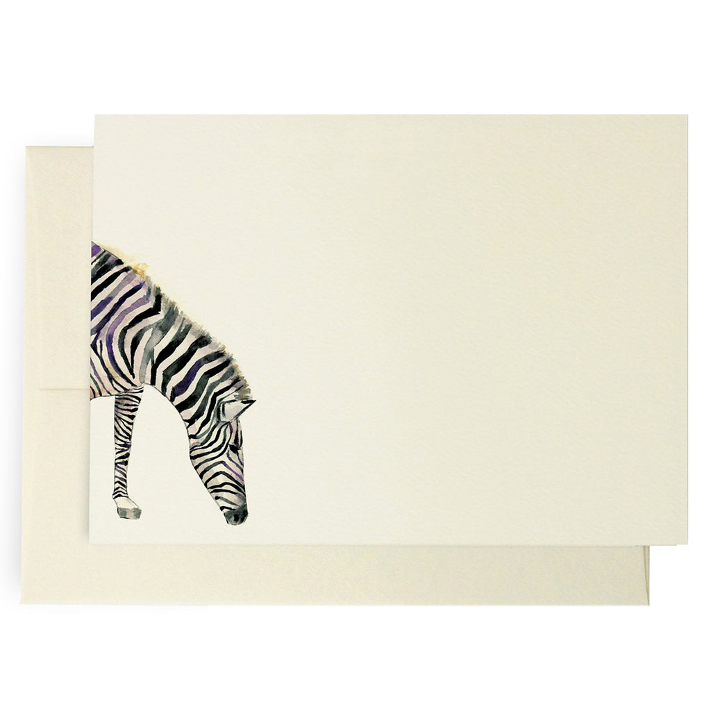 Safari Zebra Note Cards