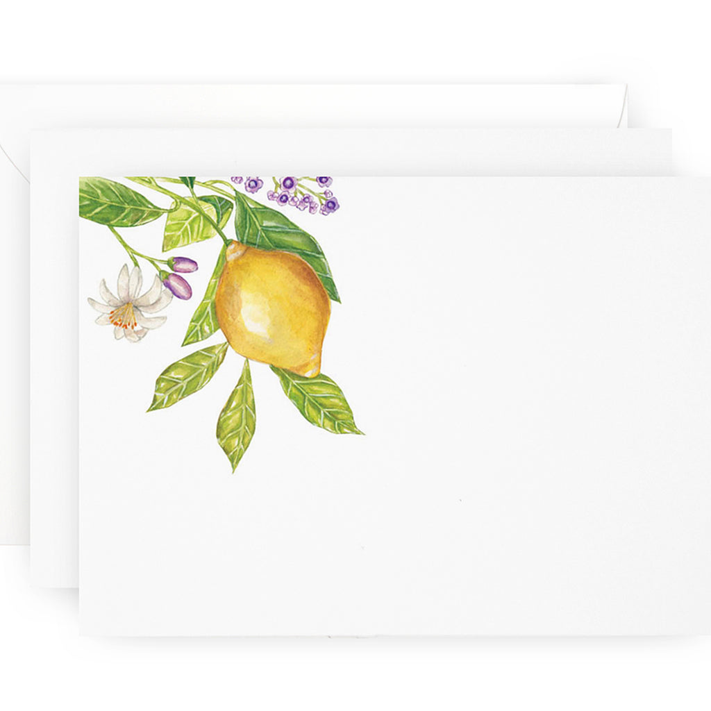 Lemon Branch Note Cards