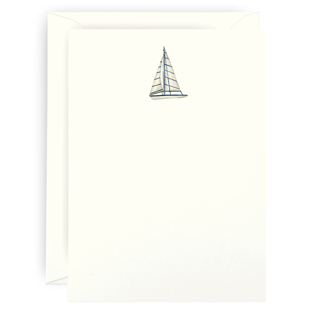 Smooth Sailing Note Cards