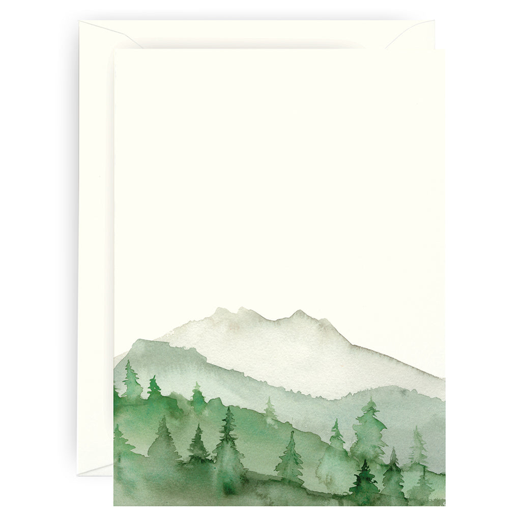 Green Mountains Note Cards
