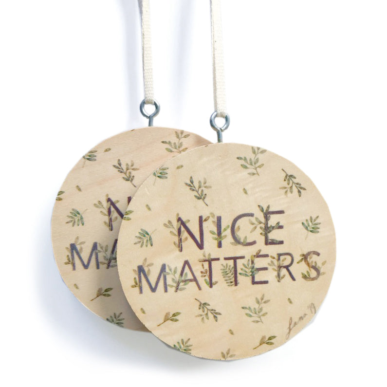 Nice Matters Ornaments