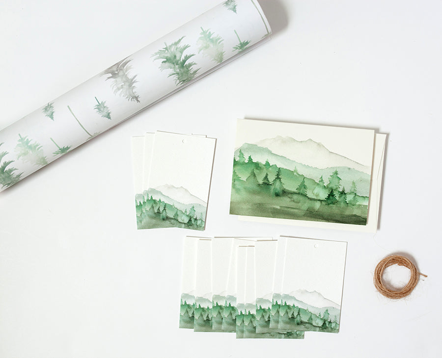 Peaceful Forest Wrapping Bundle
