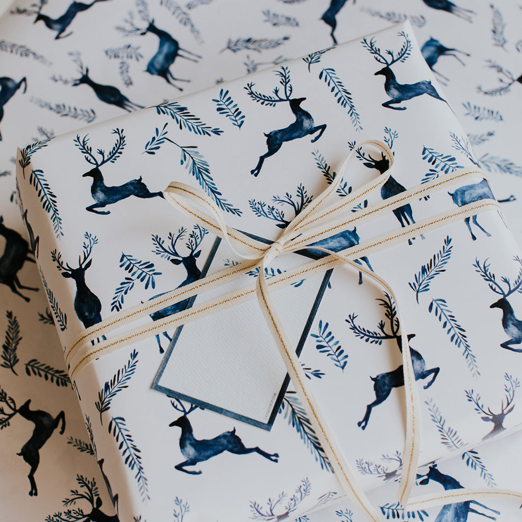 Exclusive Enchanted Reindeer Gift Wrap