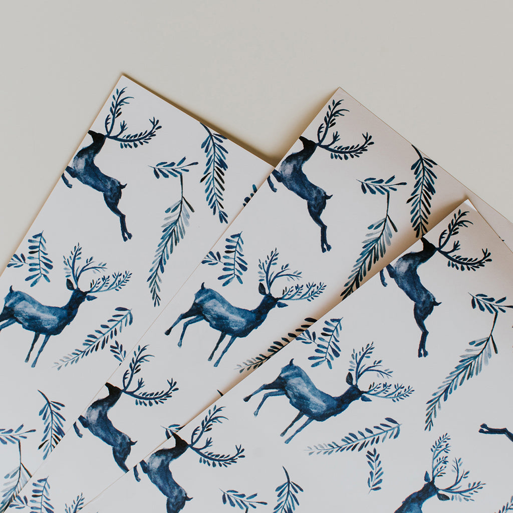 Exclusive Reindeer Wrapping Kit