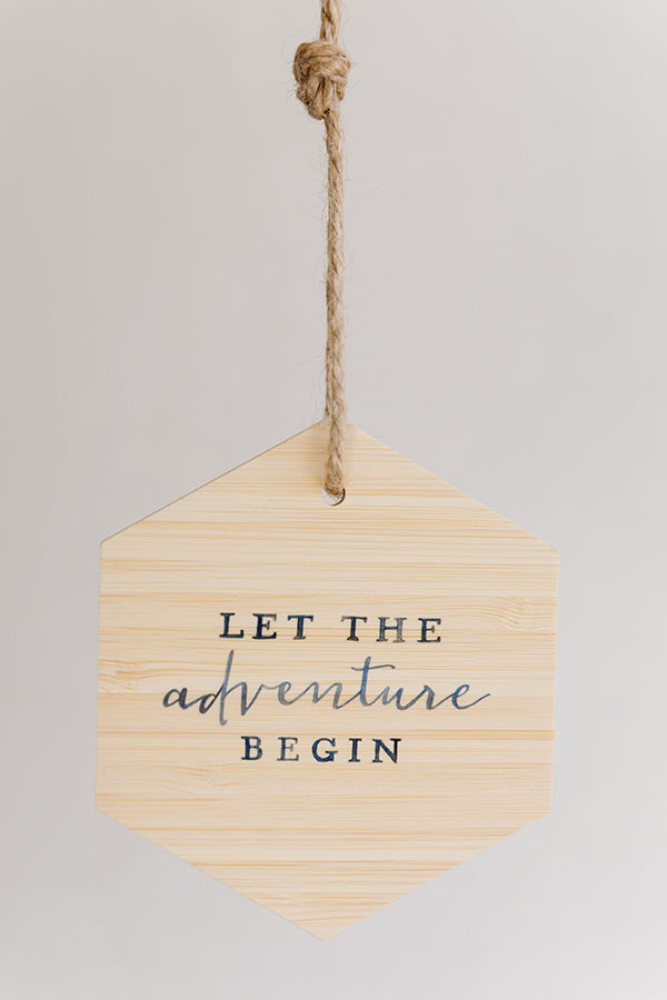 Let the Adventure Begin Ornaments