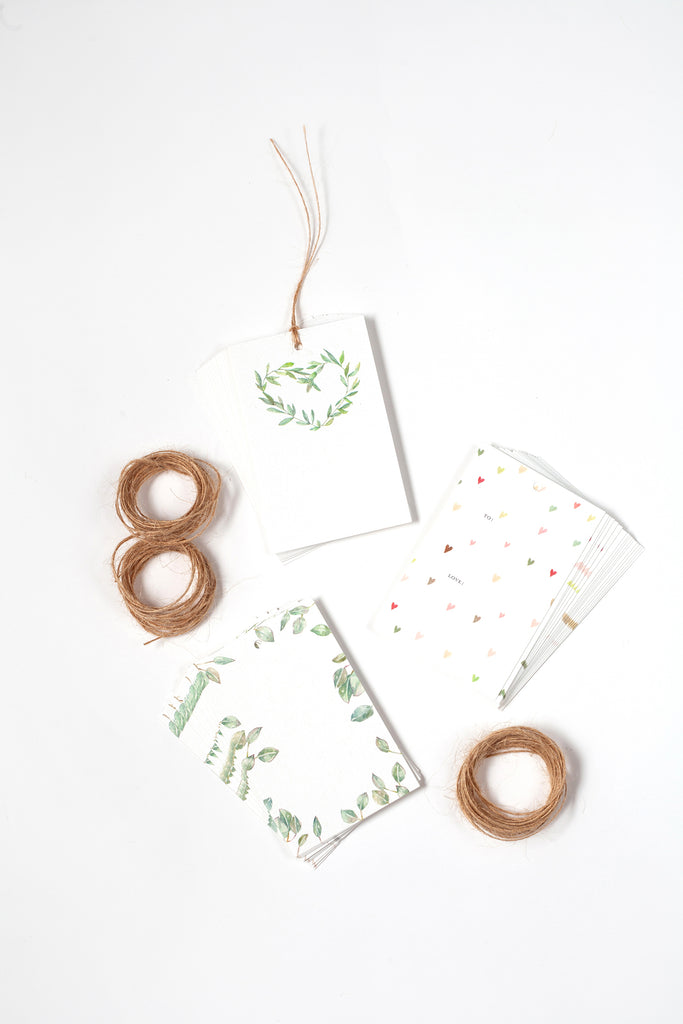 Hearts & Garlands Tag Trio