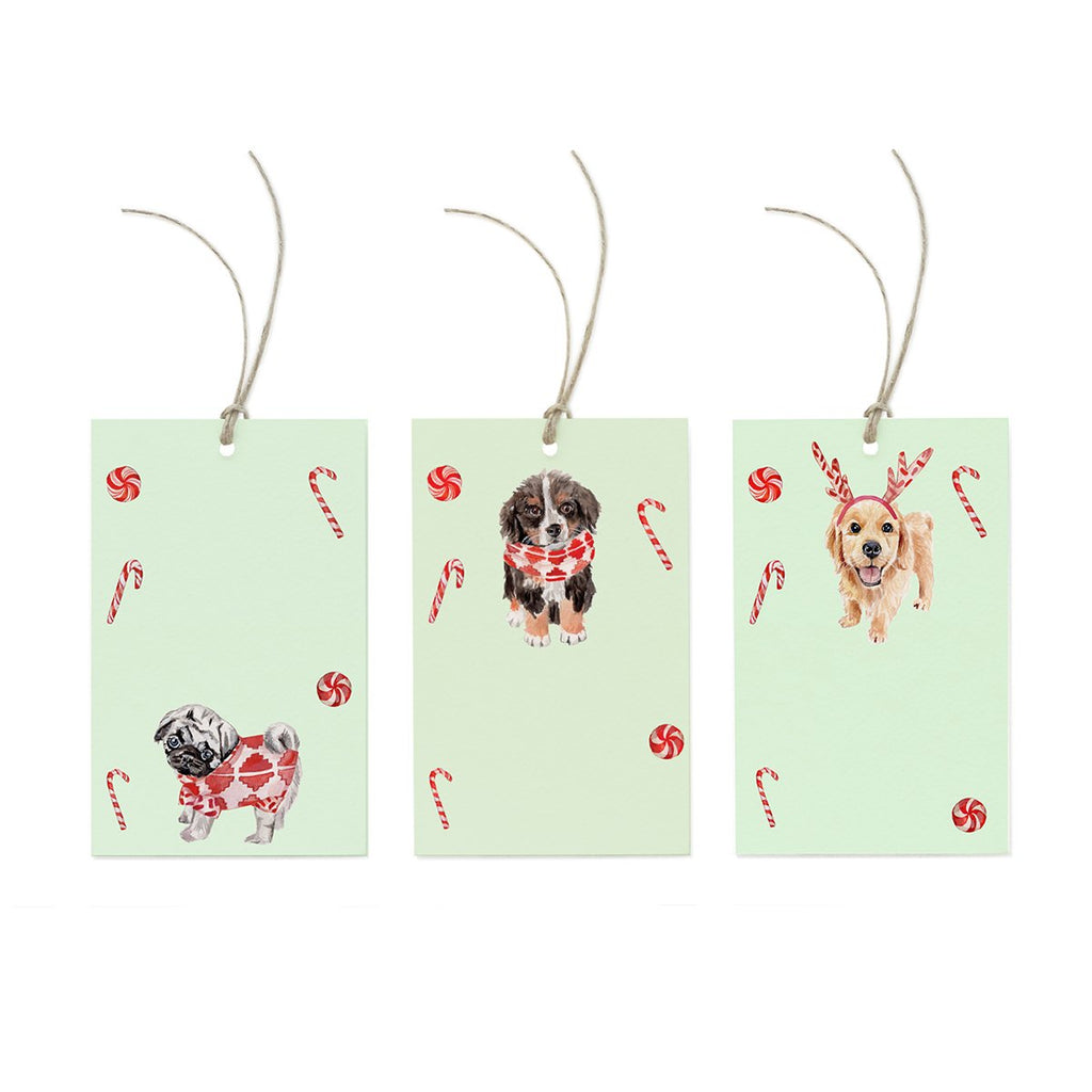 Peppermint Puppy Tag Trio