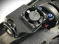 Team associated B64/B64D cooling fan shroud mount