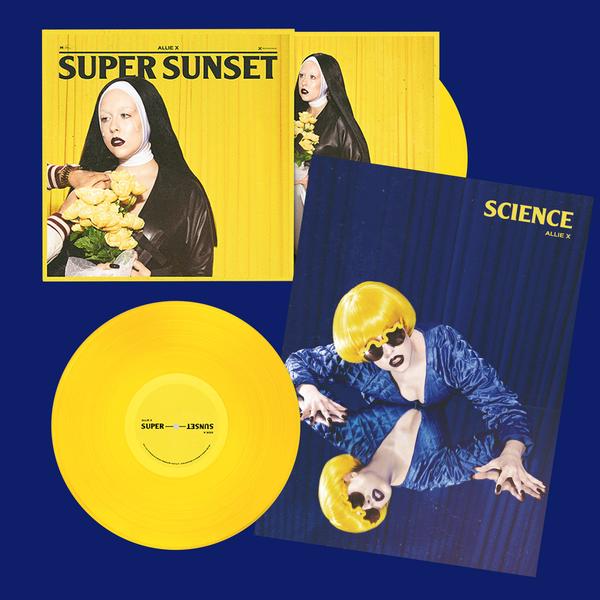 SUPER SUNSET SIGNED VINYL + SCIENCE POSTER