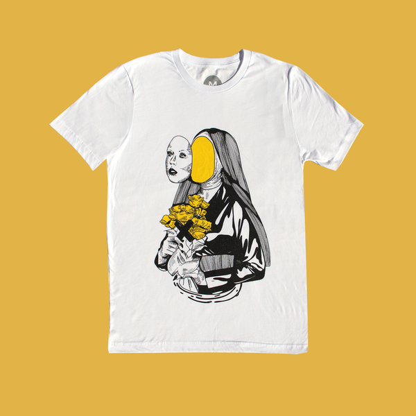 NUN ILLUSTRATION T-SHIRT