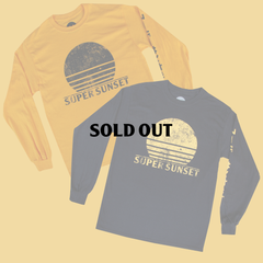 SUPER SUNSET LONG SLEEVE T-SHIRT