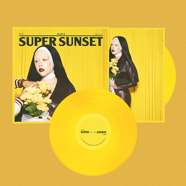 "SIGNED SUPER SUNSET 10"" YELLOW VINYL"