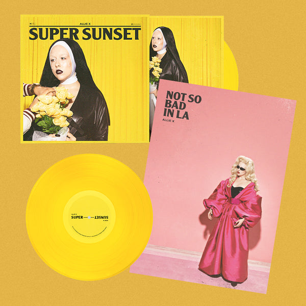 SUPER SUNSET SIGNED VINYL + POSTER