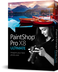 Corel PaintShop Pro X8 Ultimate RB - MyChoiceSoftware.com