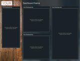 Tableau Template - Miller Stone - 12 Layouts