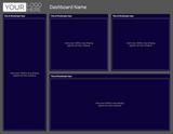 Tableau Template - Colorblind - 12 Layouts