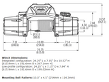 Schematic of Warn Zeon 8 Winch - 88980