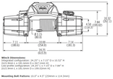 Schematic of Warn Zeon 8S Winch - 89305