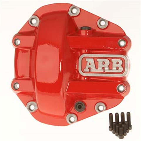 ARB Red Differential Cover For Dana 30 Axles 0750002 GarageMAD4X4
