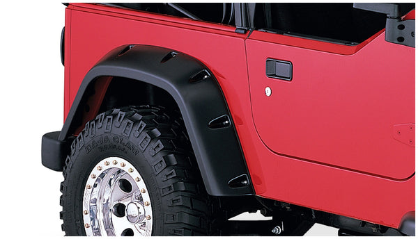 Bushwacker  10042-07 Fender Flares  Rear Set Pocket Style Image 1 GarageMAD4X4