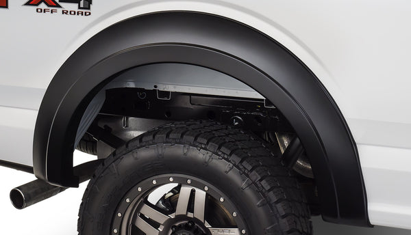 Bushwacker  20094-02 Fender Flares  Rear Extend-A-Flare Style Image 1 GarageMAD4X4
