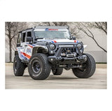 Aries - TrailChaser Alu. LED. Bull Bar Bumper Jeep - 2082046 - MAD4X4