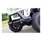 Aries - TrailChaser Aluminum Bull Bar Bumper Jeep - 2082055 - MAD4X4