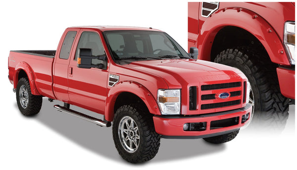 Bushwacker  20917-02 Fender Flares  Front & Rear Sets Pocket Style Image 1 GarageMAD4X4