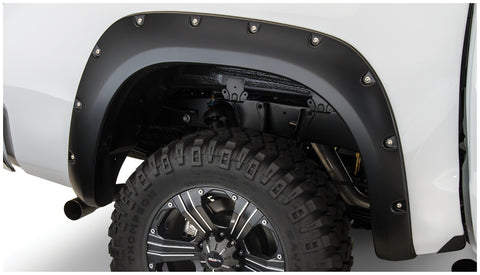 Bushwacker  30024-02 Fender Flares  Rear Set Pocket Style Image 1 GarageMAD4X4