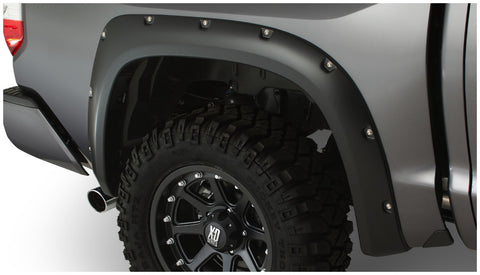 Bushwacker  30040-02 Fender Flares  Rear Set Pocket Style Image 1 GarageMAD4X4
