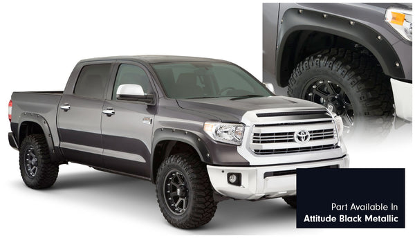Bushwacker  30918-43 Fender Flares  Front & Rear Sets Pocket Style Image 1 GarageMAD4X4