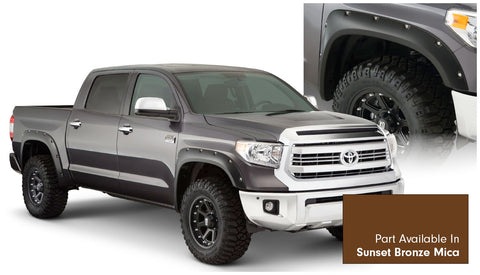 Bushwacker  30918-83 Fender Flares  Front & Rear Sets Pocket Style Image 1 GarageMAD4X4